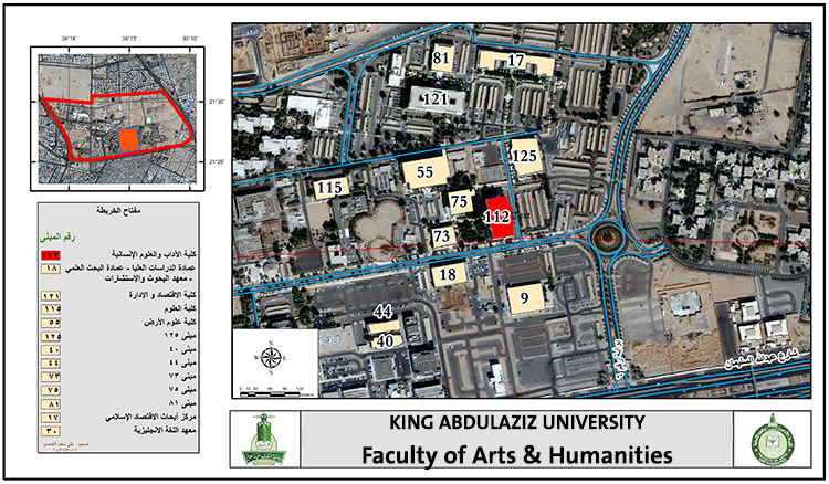 King University Campus Map.Faculty Of Arts Humanities Faculty Mab